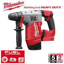 milwaukee m18 fuel drill. milwaukee m18 18v fuel brushless rotary hammer skin fuel drill a