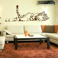 tiger wall decal professionally computer huge wall decals quality adhesive s actually looks shiny er