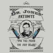 Indiana Jones Quotes 88 Amazing Dr Jones' Antidote Indiana Jones Unisex TShirt Indiana Jones