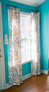 No Sew Curtains 12 Diy Curtains No Sewing Required Brit Co