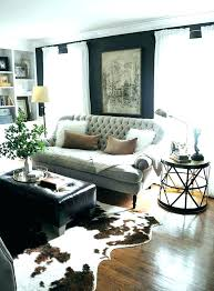cow rug faux cowhide skin rugs charming large area marvelous leopard ikea image of quality leather