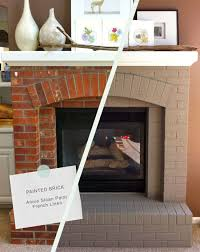brick fireplace makeover this would be a way er solution that redoing the whole thing for the home brick fireplace bricks and living