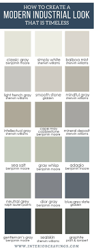 Sherwin Williams Industrial Color Chart 580 Best Color Combos Images In 2019 House Colors Paint