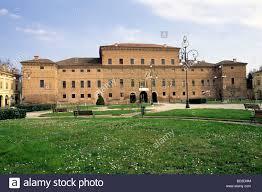 Piazza Bentivoglio Gualtieri Reggio Emilia Italy Stock Photo - Alamy