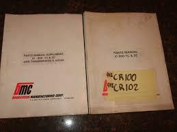 Broderson Ic 80 Operators Manual