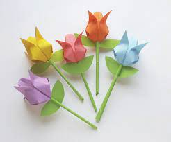 Origami Tulips : 7 Steps (with Pictures ...
