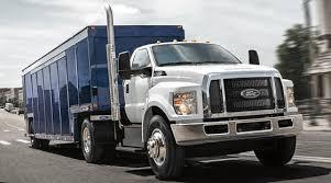 ford f 650 750 trucks are on track for record s pickuptrucks ford 2017 f 650 750 34frntpassbvrgtrck mj ii