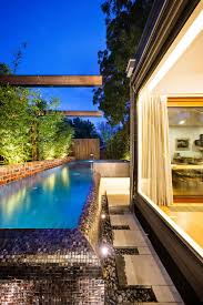 backyard design with pool. Collect This Idea Naroon Modern Backyard Project By Signature Landscapes, COS Design And Serenity Pools (11) With Pool L