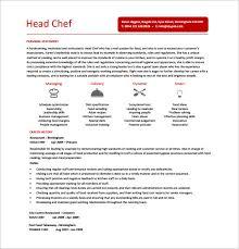 Resume Template Cook Resume Sample Pdf Free Career Resume Template