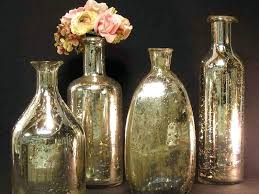 glass jug vases silver small necked assorted shapes small glass milk bottle vases