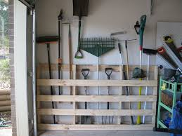 garden tool storage idea