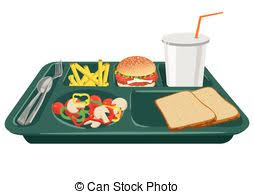 lunch tray clipart. Interesting Tray A School Lunch Tray With Copy Space  On Throughout Lunch Tray Clipart Can Stock Photo