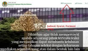 Laman ini digunakan untuk seleksi penerimaan calon pegawai negeri sipil di kementerian hukum dan hak asasi manusia republik indonesia. Jadwal Pendaftaran Cpns 2021 Klhk Lulusan Sma Smk D3 S1 S2