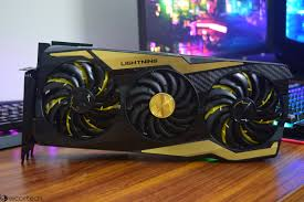 Rtx 2080 Ti Lighting Z Msi Geforce Rtx 2080 Ti Lightning Z 11 Gb Graphics Card
