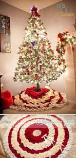 Christmas Tree Skirt Pattern Awesome 48 DIY Christmas Tree Skirt Ideas Hative