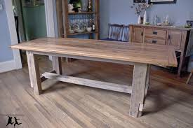 Charming How To Make Your Own Kitchen Table Including Build Rustic - Diy rustic dining room table
