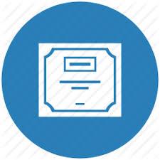 diploma doc document license round icon icon search engine diploma doc document license round icon