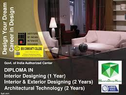 Bachelor Degree In Interior Design In India Manisha Design Diploma Interior Designing Course Vadodara