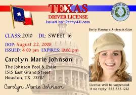 And Announcements Birth License Invitations Personalized Driver's