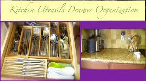 Kitchen Drawer Organizing An Organized Home Kitchen Utensils Drawer Organization Part 1 Of