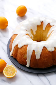 My Big Fat Greek Yogurt Meyer Lemon Bundt Cake Love And Olive Oil