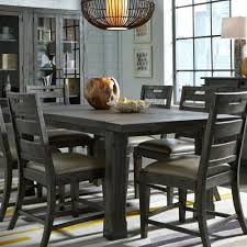 gray dining room table. Abington Dining Room Table Gray