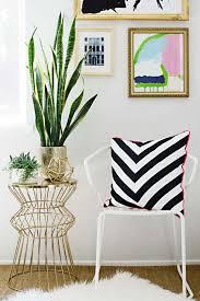 diy room decor ideas in black and white black and white chevron pillow creative
