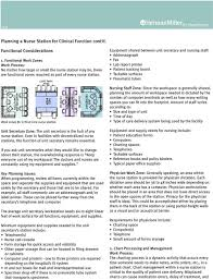 Planning A Nurse Station For Clinical Function Pdf
