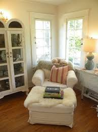 Oh I like so much about just this corner of a room.the windows, floor,  furniture, and of course, the doggie in comfort on the back of the ...