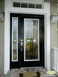 black front door with glass change the existing glass in the door traditional entry black front door with stained glass jpg