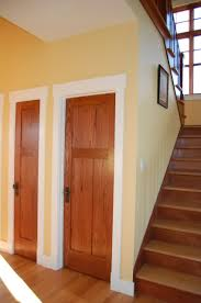 Interesting Wood Interior Doors With White Trim and Its Fine To Do