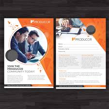 Meeting Flyer Design Bold Modern Business Consultant Flyer Design For Producor