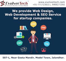 Web Designing In Jalandhar Best Web Designing Company In Jalandhar Evolvertech
