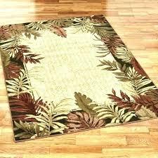 palm rug new outdoor appealing tropical rugs coastal i o