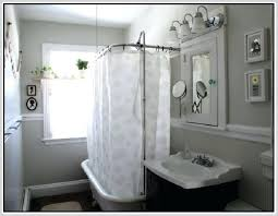 clawfoot tub shower curtain tub shower conversion kit enclosure home intended for design 7 clawfoot tub