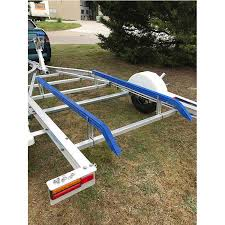 how to install boat trailer bunks 14