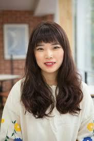 ナチュラル ロング デジタルパーマ オルチャンtanpopo Hair In 韓国