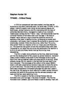 lord of the flies simon essay gcse english marked by  titanic amp amp 150 critical essay