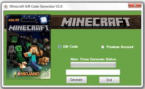 trying to generate more than one code will result in the suspension of the minecraft gift code generator