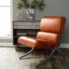 Living Room Chairs  West ElmLeather Chairs Living Room