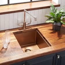 15 Atlas Stainless Steel Undermount Prep Sink Bronze Kitchen