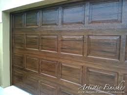 paint a garage door and the artistic finishes team painted a home in west palm beach paint a garage door