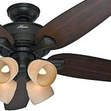 4 light ceiling fan hunter new bronze ceiling fan w 4 light fitter tea stained hunter