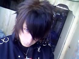 emo scene boy hair kute meninos do