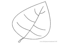 Hoja Seca De Otoño 2 Dibujalia Dibujos Para Colorear