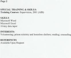 Special Training Skills Qualifications Examples - Tier.brianhenry.co