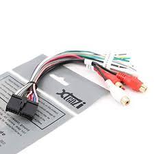 amazon com xtenzi 20 pin dual wire harness xdvd8180 xhd6420 xdm6830  at Dual Xdm 16 Bt Installation Wiring Harness Diagram