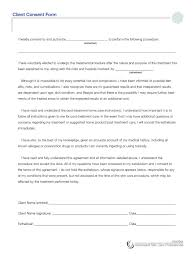 Consent To Treat Forms Consent Treatment Forms 16