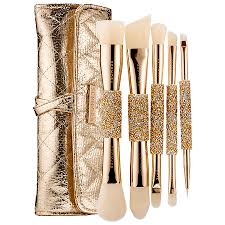 sephora collection double time double ended brush set 74