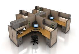 Office cubicle wall Beach Themed Office Cubicles Rendering Cnncom Selecting The Right Office Cubicle Wall Height